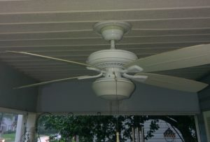 Ceiling Fan attached with GeeFix